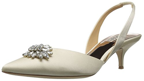 Badgley Mischka Women's Salena Pump, Ivory