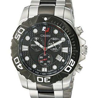 Calibre Men's Akron Analog Display Quartz Two Tone Watch