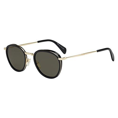 Celine Black Gold / 70 brown lens Sunglasses