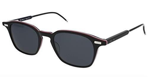 Sunglasses THOM BROWNE BlackRWB w/ Dark Grey-AR