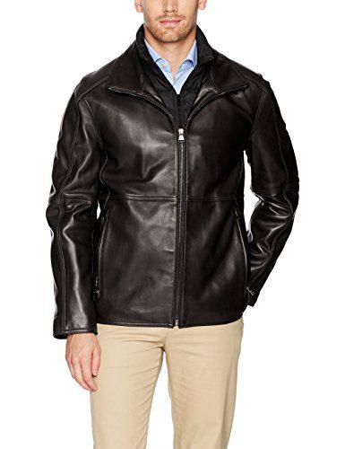 Marc New York by Andrew Marc Men's Hartz Lambskin Leather Jacket