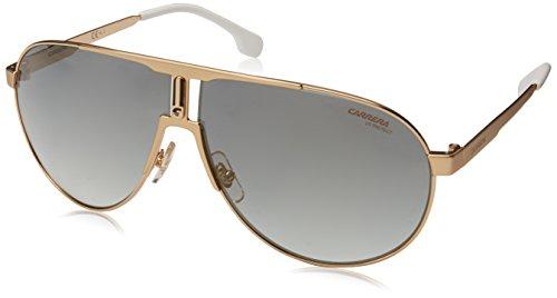 Carrera Men's Aviator Sunglasses, Gold, 66 mm