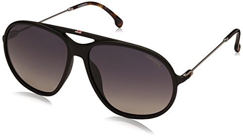 Carrera Men's Polarized Aviator Sunglasses, Matte Black