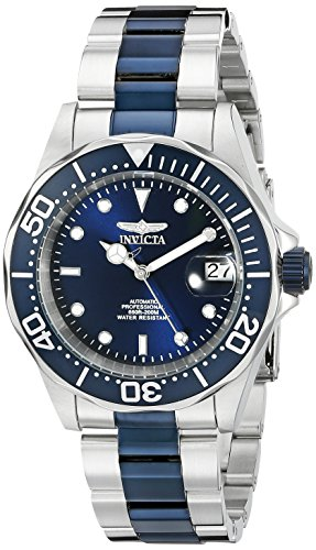 Invicta Men's 19272SYB Pro Diver Analog-Display Automatic Self-Wind Two-Tone Watch