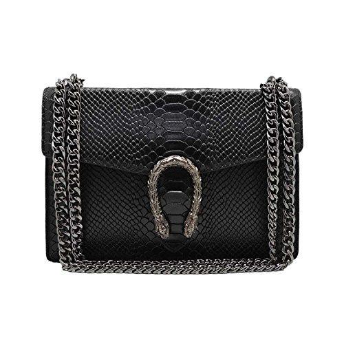 RONDA REPTILE Italian Baugette clutch mini wallet