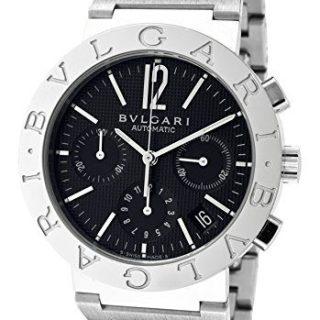Men's Bulgari Bulgari Mechanical/Automatic Chronograph Black