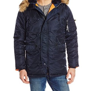 Alpha Industries Men's N-3B Slim-Fit Parka Jacket