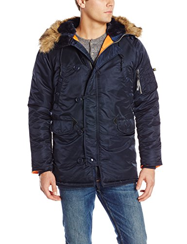 Alpha Industries Men's N-3B Slim-Fit Parka Jacket