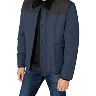 Marc New York by Andrew Marc Men's Howell, Navy, Large