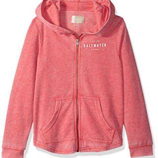 Roxy Girls' Big Teasing You Zip-Up Hooded Sweatshirt