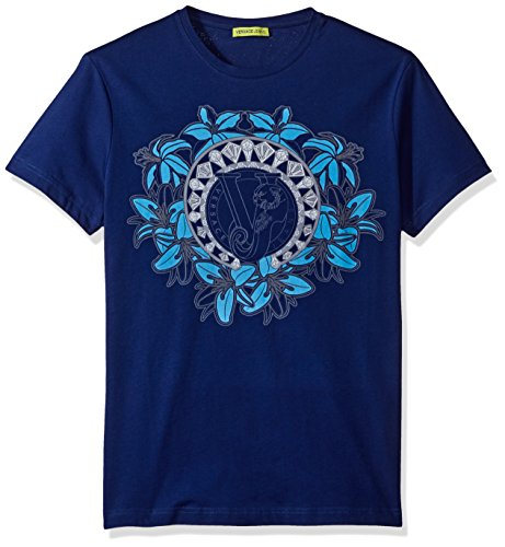 Versace Jeans Men's Graphic Circle Logo T-Shirt