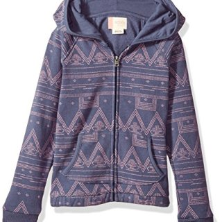Roxy Girls' Little Make Me Swim Hooded Sweatshirt