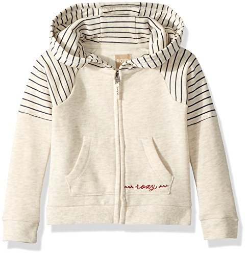 Roxy Toddler Girls' Sky and Sand Zip-up Fleece Sweatshirt