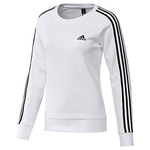 adidas Essentials 3S Fleece Crewneck Sweatshirt Women's Casual