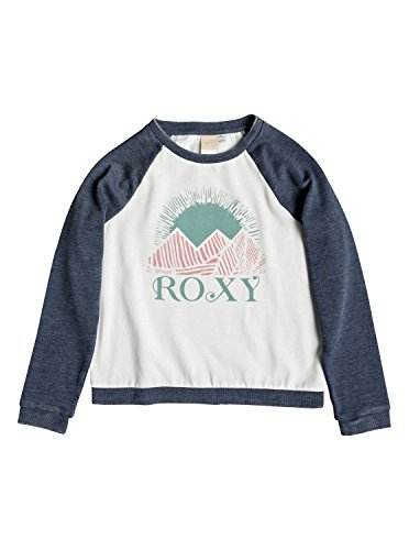 Roxy Girls Palm Bazaar Crew Rg Dress Blues Hoodie