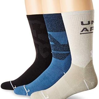 Under Armour Men's Phenom Graphic Crew Socks