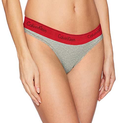 Calvin Klein Women's Regular Modern Cotton Thong Panty