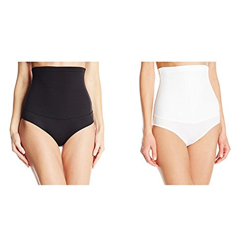 Maidenform Flexees Women's 2 Pack Shapewear Hi-Waist Brief