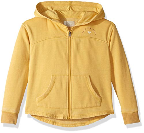 Roxy Girls' Big Sky Ladder Zip-Up Hooded Sweatshirt