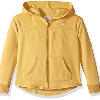Roxy Girls' Big Sky Ladder Zip-Up Hooded Sweatshirt