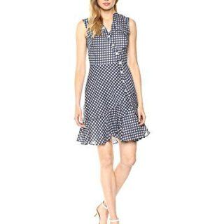 Shoshanna Women's Ayden Sleeveless Gingham Dress