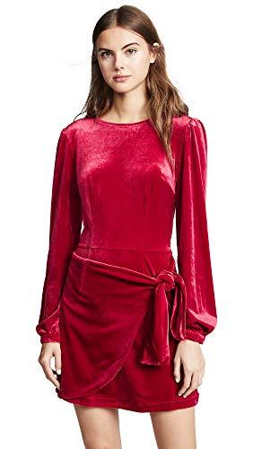 Yumi Kim Women's Tie Me Over Dress, Red, Medium
