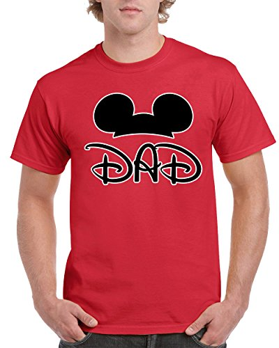 Father's Day Most Popular Disney Mickey Dad Men's T-Shirts