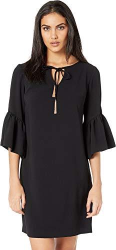 Trina Turk Women's Baroque Dress Black Medium