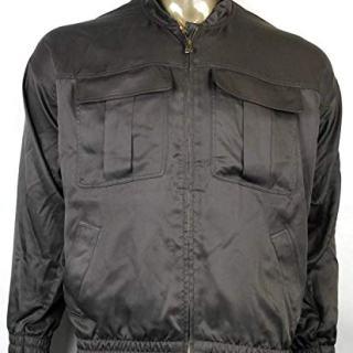 Gucci Women's Brown Silk Twill Blouse Jackets