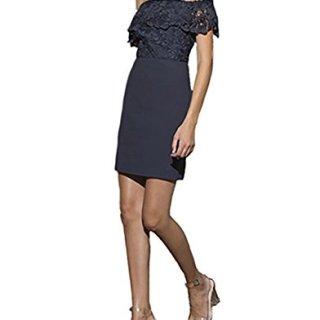 StyleStalker Madelyn Mini Dress in Slate (Extra Small)