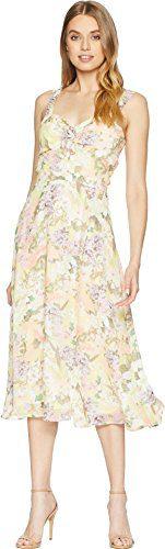 Yumi Kim Women's Ariana Dress Garden Light Lemon Medium