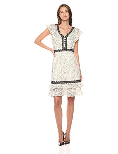 Nanette Nanette Lepore Women's Sleeveless Lace Dress