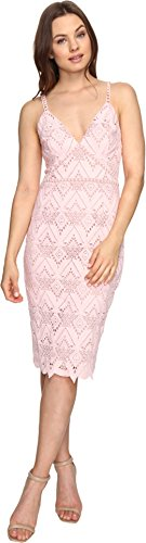 StyleStalker Women's Elora Midi Dress Salmon Dress