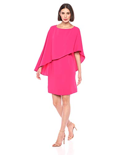 Trina Trina Turk Women's Adore Cape Overlay Dress