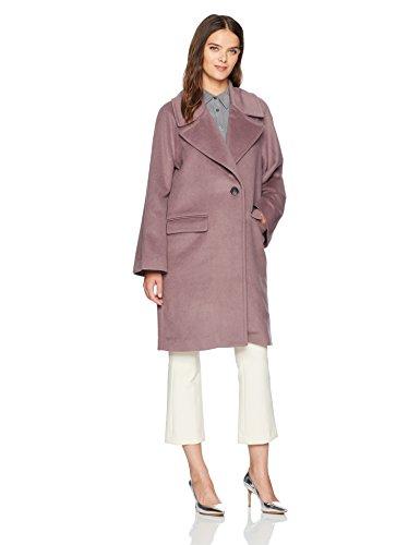 Badgley Mischka Women's Oversized Wool Cocoon Coat