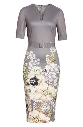 Ted Baker Wendala Gem Gardens Body-Con Dress