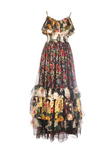 Dolce e Gabbana Women's Multicolor Silk Dress