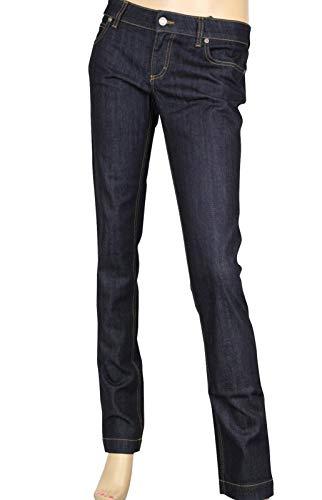 Gucci Denim Legging Jeans Dark Blue Cotton Elastane Pants