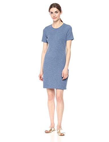Theory Women's Short Sleeve Ribbed Cherry B3 Dress