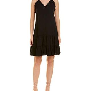 Rebecca Taylor Women's Sleeveless Silk Slip Dress