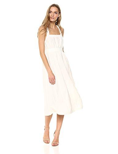 Rachel Pally Women's Linen LIAN Dress, White XS