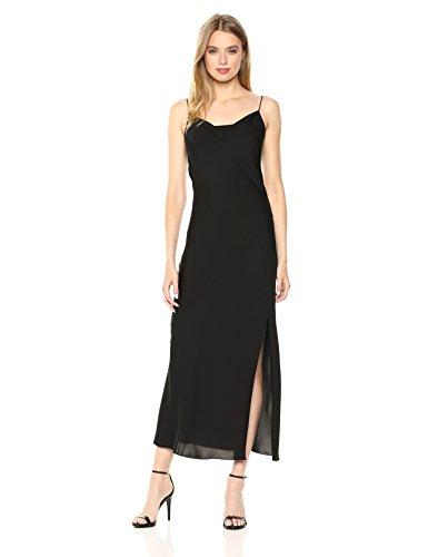 Theory Women's Sleeveless Draped Back Maxi Dress
