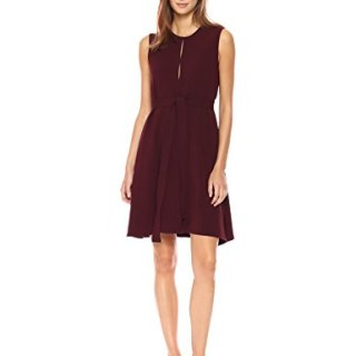 Theory Women's Desza B Dress, Dark Currant 4