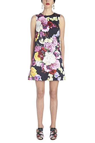 Dolce e Gabbana Women's Purple Cotton Dress