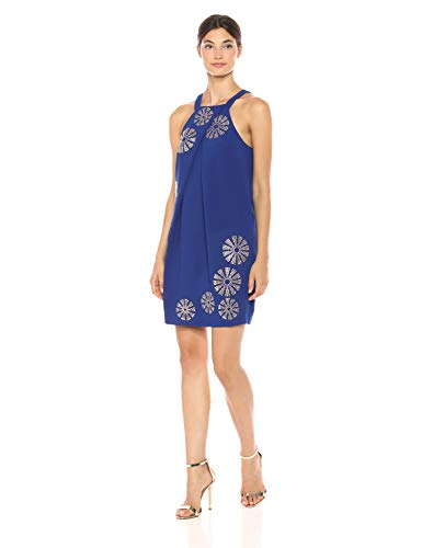 Trina Turk Women's Felisha Pleated Sleeveless Dress