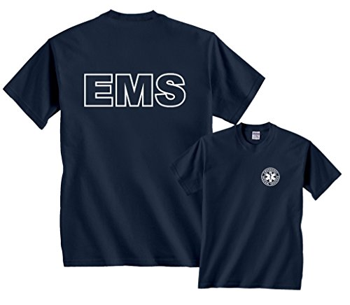 Fair Game EMS Emergency Medical Services T-Shirt-Navy-M