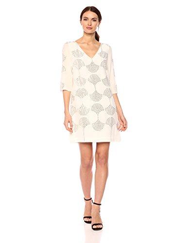 Trina Turk Women's Glitterati 2 Dress, White wash
