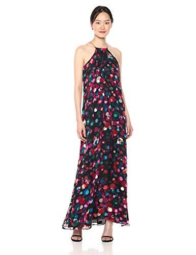 Trina Turk Women's Vino Halter Style Maxi Dress
