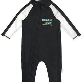 SwimZip Little Boy Long Sleeve Sunsuit