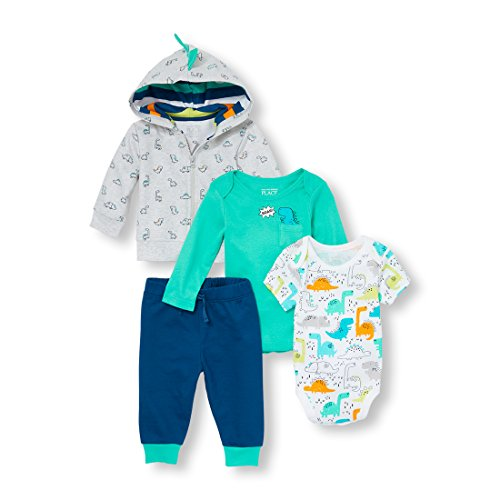 The Children's Place Baby Boys Hoodie, Bodysuits and Pants